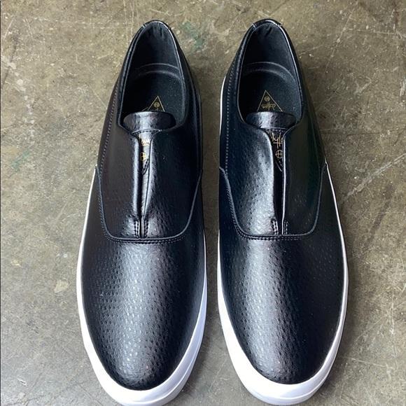 HUF Shoes   Dylan Slip On Black   Poshmark